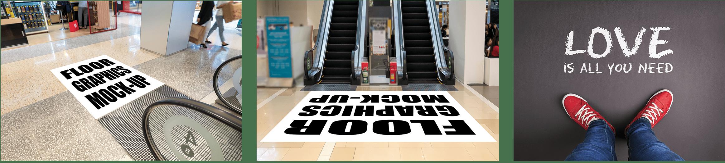 decorative floor graphics