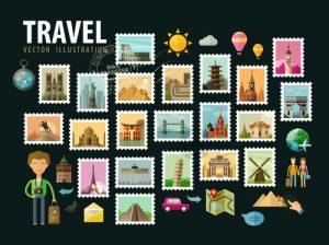 Kiss Cut Vs Die Cut Stickers postage stamps