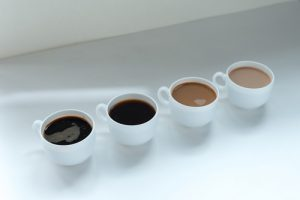 4 cups of coffee