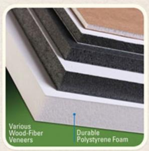 Various wood fiber veneers