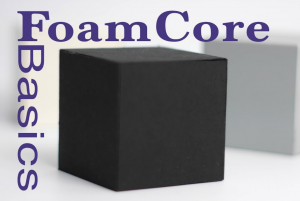 Foam core block shape