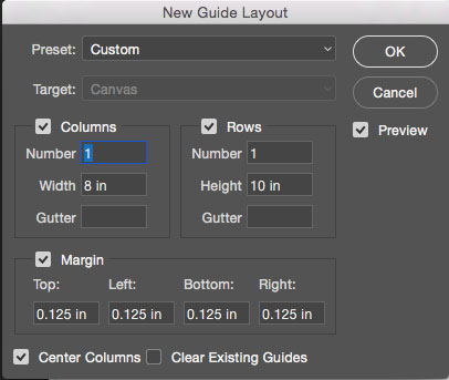 bleed printing new guide layout example photoshop