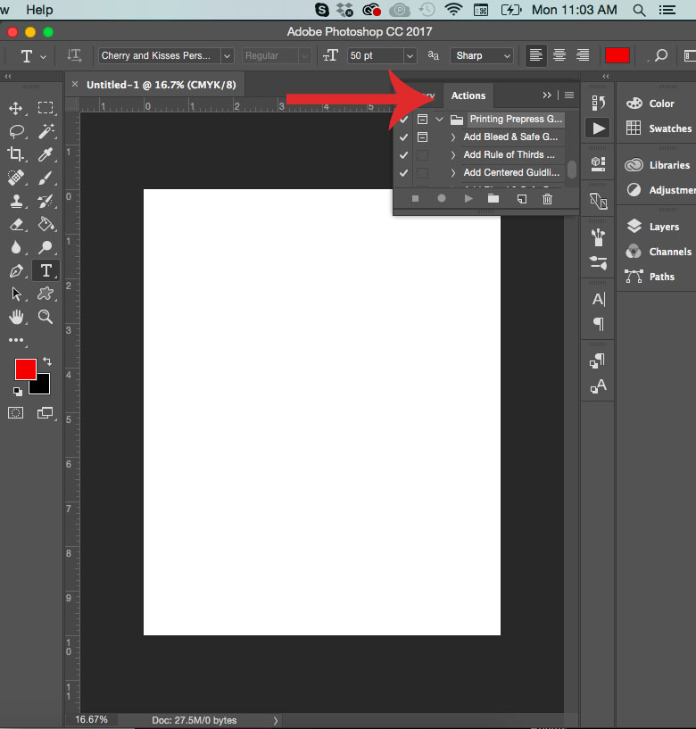 setting up bleed in photoshop
