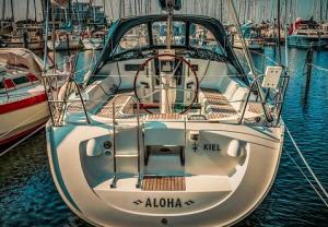 aloha boat decal