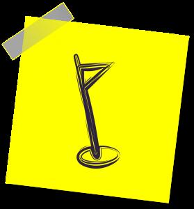 a flag graphic design