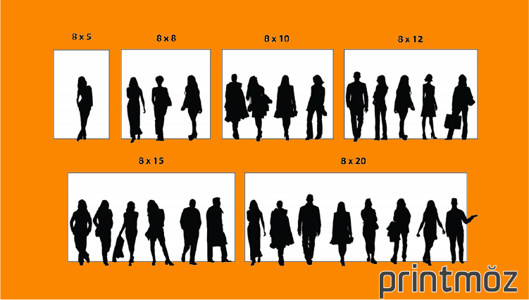 step and repeat backdrop size chart