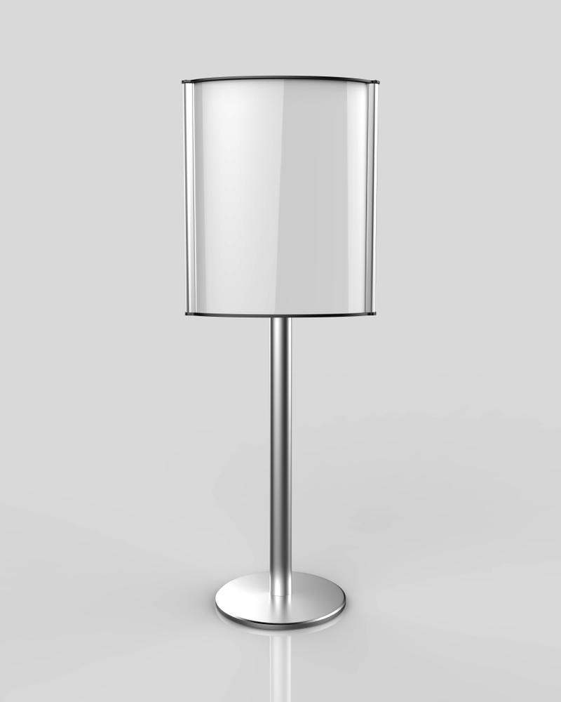 backlit lampshade