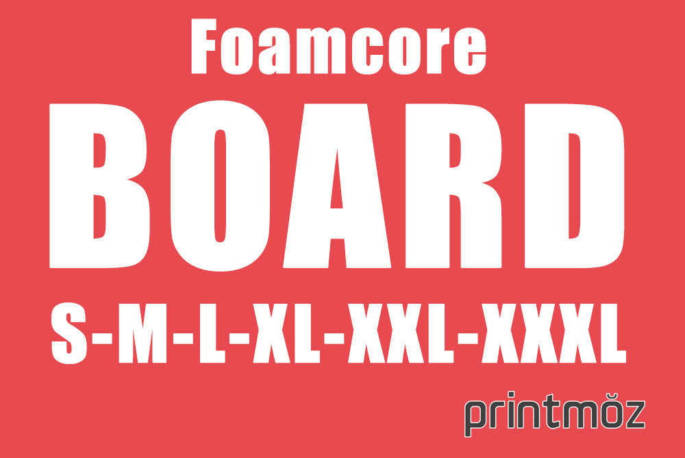 Foam Core Board - What Are Common Sizes & Thickness