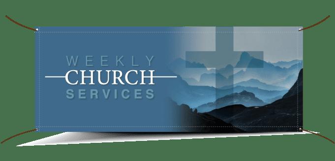 church vinyl banners