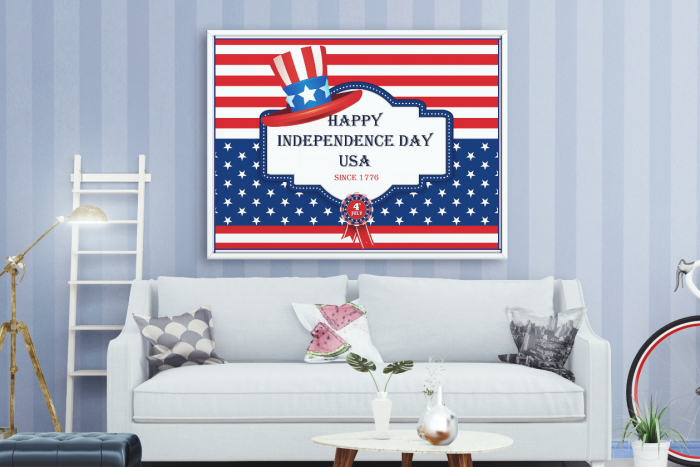 happy 4th july banners