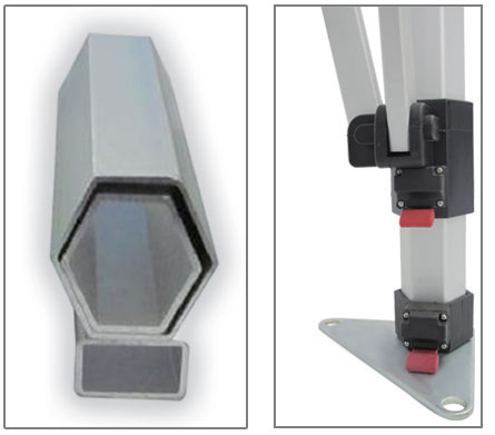 40mm Hex Frame Canopy | ParamountPromotions.com
