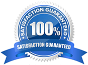 Satisfaction Guaranteed Window Decals