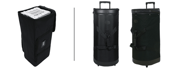 Hardware Bag Upgrade with Rollers