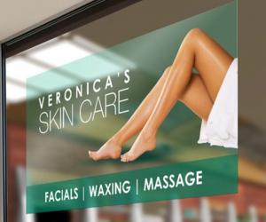 skin care decal