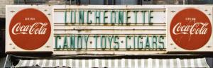 lunchenette dinner sign