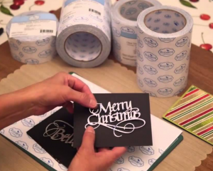 clear sided tape for crafts